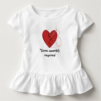 T-shirt Pour Les Tous Petits Une certaine chemise hérissée par coeur réparée