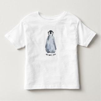 T-shirt Pour Les Tous Petits Une chemise intelligente de pingouin de poussin