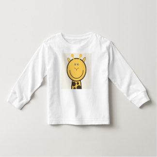 T-shirt Pour Les Tous Petits Une girafe toute rigolote