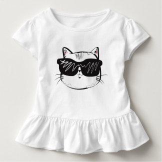 T-shirt Pour Les Tous Petits Usage frais d'enfant en bas âge de chat