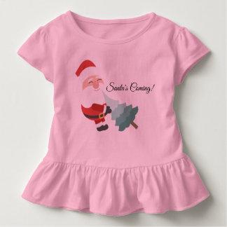 T-shirt Pour Les Tous Petits Venir de Père Noël