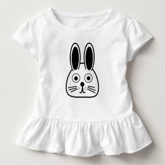 T-shirt Pour Les Tous Petits visage de lapin