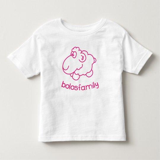 T-shirt Pour Les Tous Petits Young moulos girl
