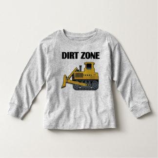 T-shirt Pour Les Tous Petits Zone de saleté (bouteur) - longue douille T-Shir