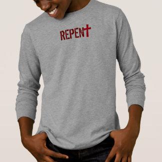 T-shirt pour LUI (jeunesse) : REPENTISSEZ-VOUS + Agit le