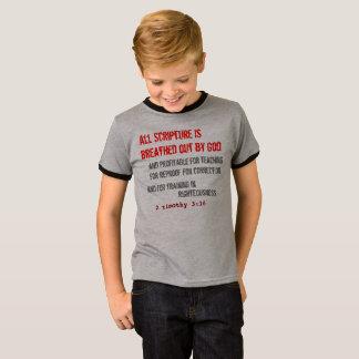 T-shirt pour LUI (jeunesse) : Toute l'écriture sainte est