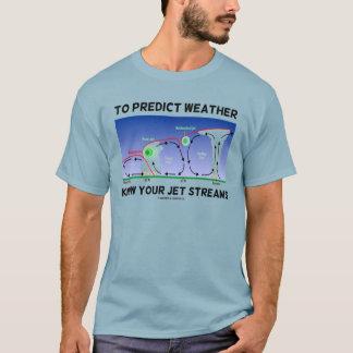 T-shirt Pour prévoir le temps connaissez vos courants de