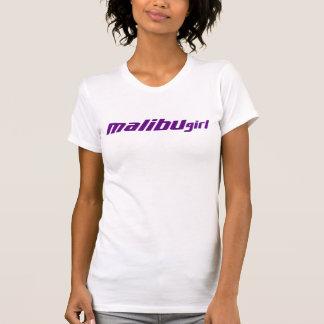 T-shirt Pourpre de fille de Malibu
