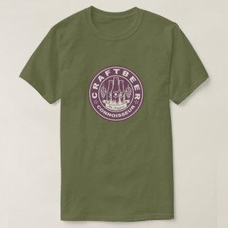 T-shirt Pourpre de Lite de connaisseur de bière de métier