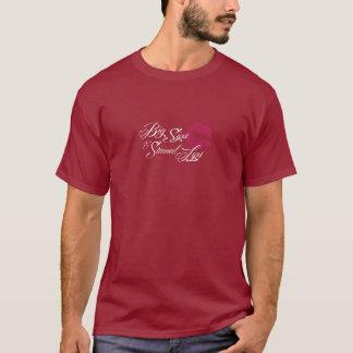 T-shirt pourpre de vendredi de caves de Fernwood