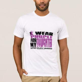 T-shirt Pourpre d'épilepsie pour la fille