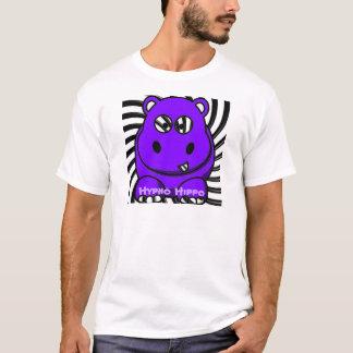 T-shirt Pourpre d'hippopotame de Hypno