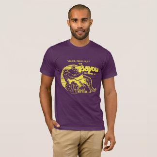 """T-shirt Pourpre et or """"pièce en t vintage de style du"""