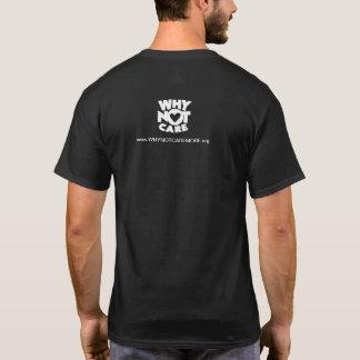 T-shirt pourquoi pas pièce en t de logo de soin