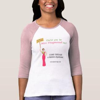 T-shirt Pourriez-vous être Mlle Diagnosed aussi ?