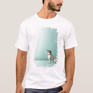 T-shirt poursuivez la recherche dans l'espace