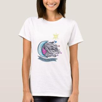 T-shirt Pousse pour la lune