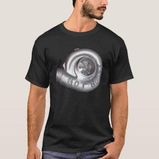 T-shirt Poussée obtenue Turbo