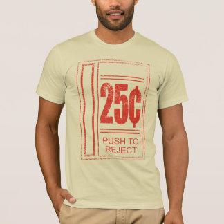 T-shirt Poussez au rejet