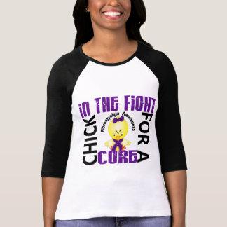 T-shirt Poussin dans la fibromyalgie de combat