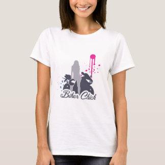 T-shirt Poussin de motard de moto