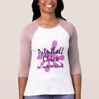 T-shirt Poussin de Paintball