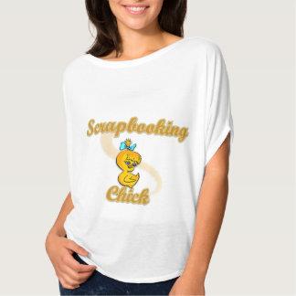 T-shirt Poussin de Scrapbooking