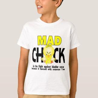 T-shirt Poussin fou dans le cancer de la vessie de combat