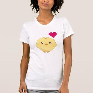 T-shirt Poussin jaune mignon