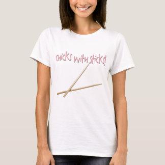 T-shirt Poussins avec des bâtons