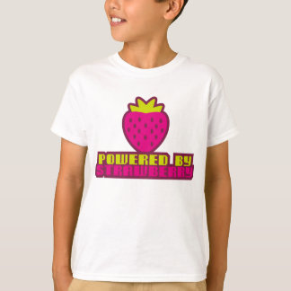 T-SHIRT POWERED_BY_STRAWBERRY