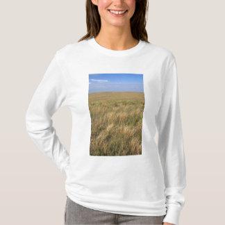 T-shirt Prairie de prairie à l'est de Sidney, Nébraska