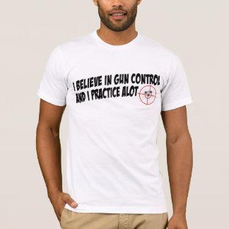 T-shirt Pratique en matière du contrôle des armes I