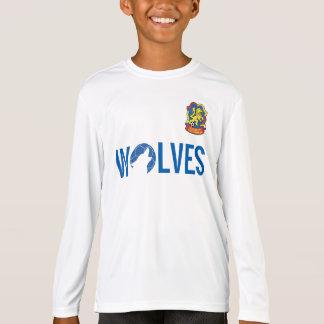 T-shirt Pratique en matière Jersey - LS d'enfants
