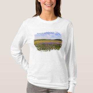 T-shirt Pré des fleurs sauvages de penstemon dans les 2