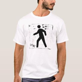 T-shirt Précipitation d'Impair-Man - homme courant -