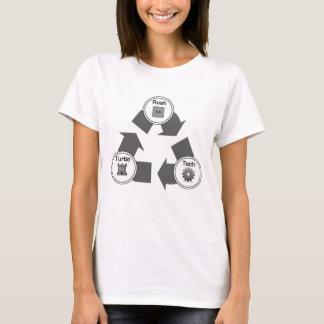 T-shirt Précipitation/tortue/technologie