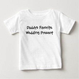 T-shirt préféré de cadeau de mariage de Daddys