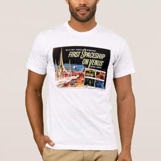 """T-shirt """"Premier vaisseau spatial tee - shirt sur Vénus"""""""