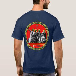 T-shirt Première chemise de joint de croisés
