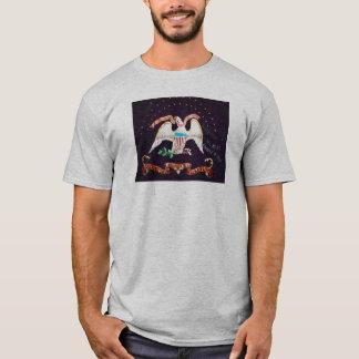T-shirt Première chemise d'infanterie colorée par Kansas