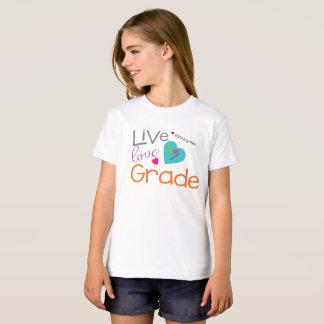 T-Shirt Première école primaire d'amour vivant