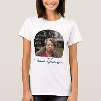 T-shirt Première Madame d'Eleanor Roosevelt du monde