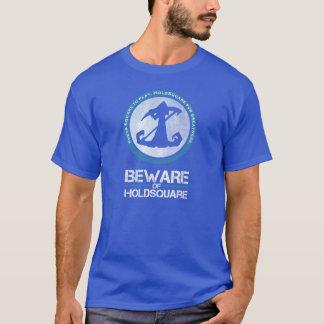 T-shirt Prenez garde de la chemise de HoldSquare - hommes