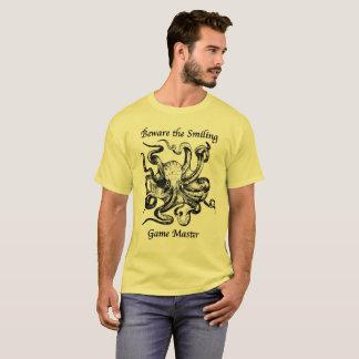 T-shirt Prenez garde de la chemise de sourire du maître