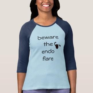 T-shirt prenez garde de la fusée endo