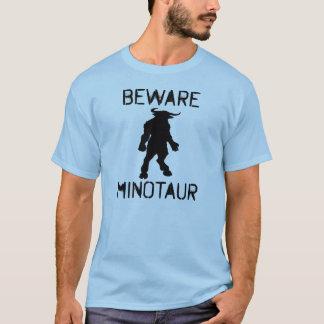 T-shirt Prenez garde de Minotaur (le noir)