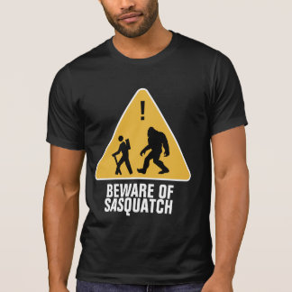 T-shirt Prenez garde de Sasquatch