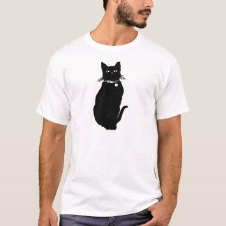 T-shirt Prenez garde du chat noir
