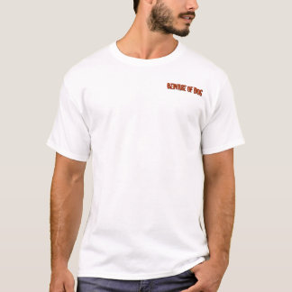 T-shirt Prenez garde du chien